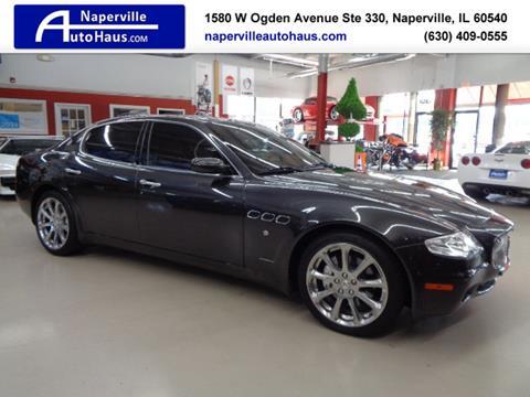 Used 2007 Maserati Quattroporte For Sale In Delaware Carsforsale