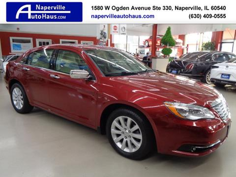2014 Chrysler 200 for sale in Naperville, IL