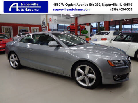 2009 Audi A5 quattro for sale at Naperville Auto Haus in Naperville IL