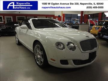 2011 Bentley Continental GTC for sale in Naperville, IL