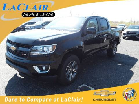 2020 Chevrolet Colorado for sale at Laclair Sales Chevy Buick Inc in Chesaning MI