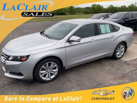 2016 Chevrolet Impala LT for sale at Laclair Sales Chevy Buick Inc in Chesaning MI