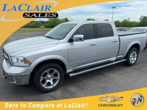 2018 RAM Ram Pickup 1500 Laramie for sale at Laclair Sales Chevy Buick Inc in Chesaning MI