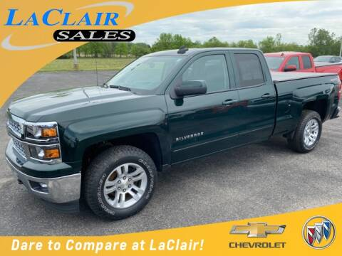 2015 Chevrolet Silverado 1500 LT for sale at Laclair Sales Chevy Buick Inc in Chesaning MI