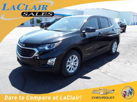 2020 Chevrolet Equinox LT for sale at Laclair Sales Chevy Buick Inc in Chesaning MI