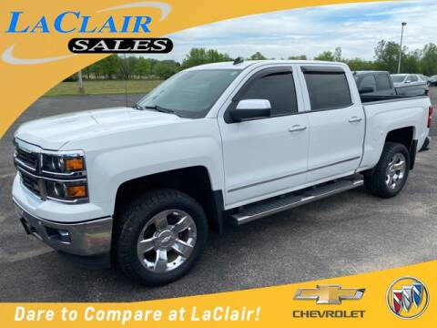 2014 Chevrolet Silverado 1500 LTZ Z71 for sale at Laclair Sales Chevy Buick Inc in Chesaning MI