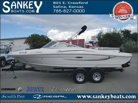 2009 Sea Ray 205 Sport for sale in Salina, KS