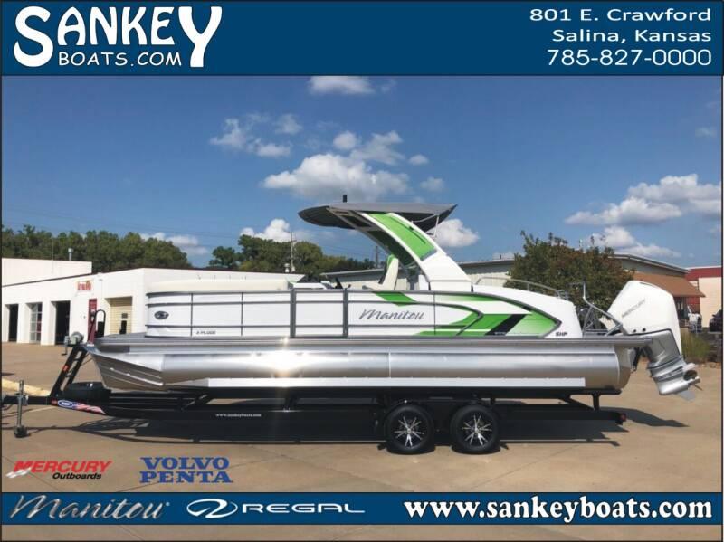 2021 Manitou Xplode 25 SRS SHP for sale at SankeyBoats.com in Salina KS