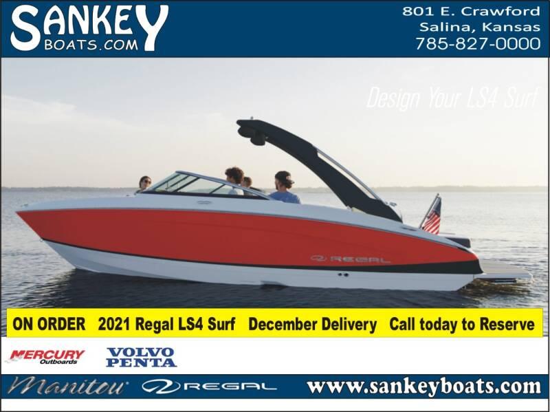 2021 Regal LS4 Surf for sale at SankeyBoats.com in Salina KS