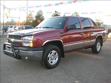 2004 Chevrolet Avalanche for sale in Wheat Ridge, CO