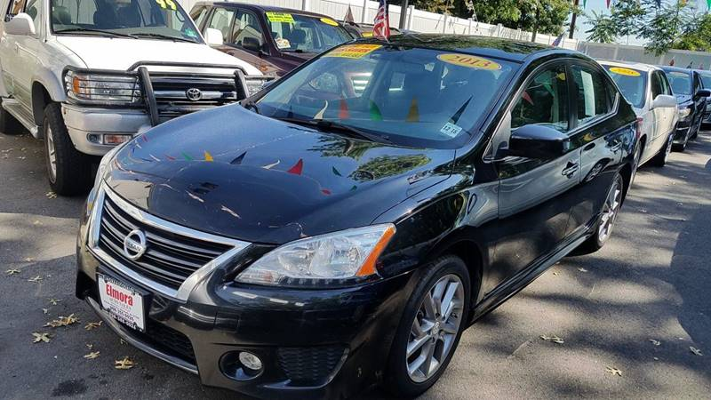 2013 nissan sentra sr 4dr sedan in elizabeth nj elmora auto sales. Black Bedroom Furniture Sets. Home Design Ideas