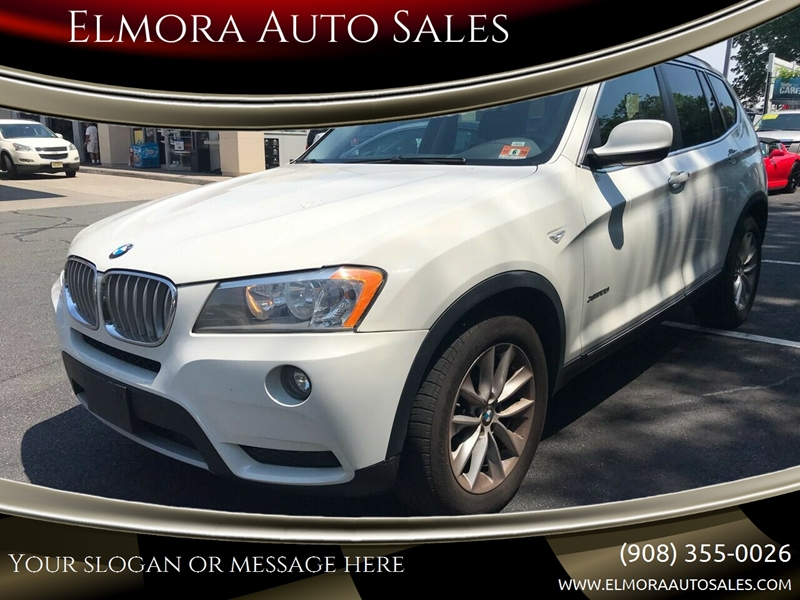 2014 Bmw X3 Awd Xdrive28i 4dr Suv In Elizabeth Nj Elmora Auto Sales