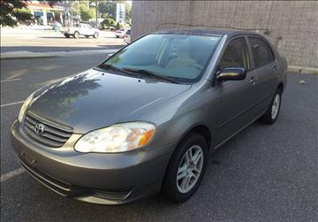 2003 Toyota Corolla For Sale In Elizabeth, NJ