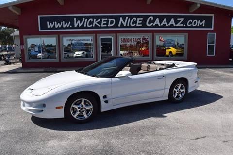 2001 Pontiac Firebird for sale in Cape Coral, FL