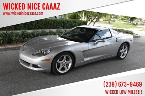 2006 Chevrolet Corvette for sale in Cape Coral, FL