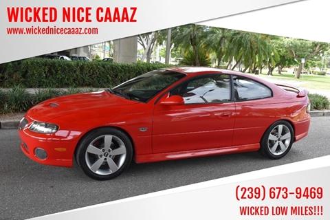 2005 Pontiac GTO for sale in Cape Coral, FL