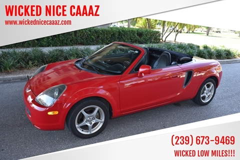 2002 Toyota MR2 Spyder for sale in Cape Coral, FL