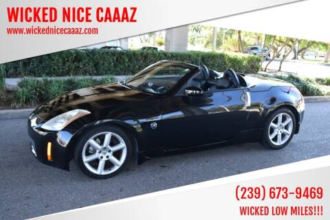 2004 Nissan 350Z for sale at WICKED NICE CAAAZ in Cape Coral FL