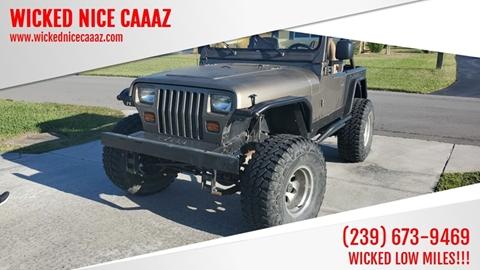 1988 Jeep Wrangler for sale in Cape Coral, FL