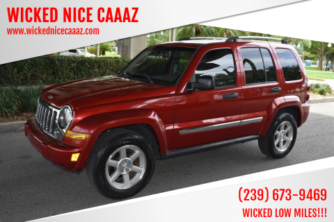 2006 Jeep Liberty for sale at WICKED NICE CAAAZ in Cape Coral FL