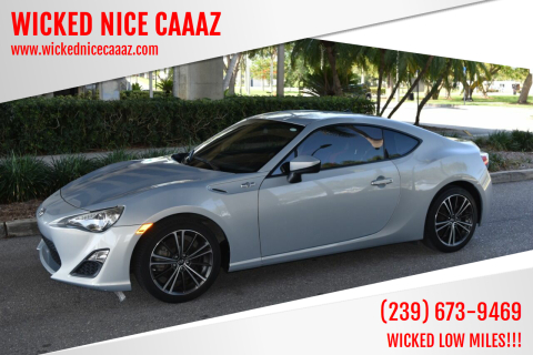 2013 Scion FR-S for sale at WICKED NICE CAAAZ in Cape Coral FL