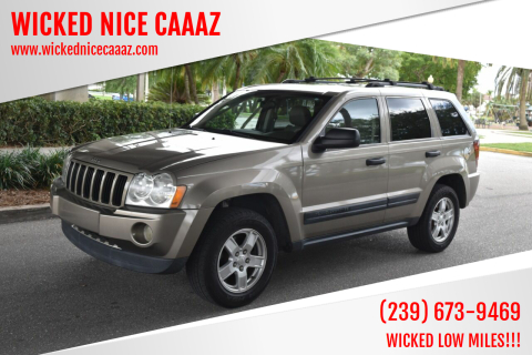 2005 Jeep Grand Cherokee for sale at WICKED NICE CAAAZ in Cape Coral FL