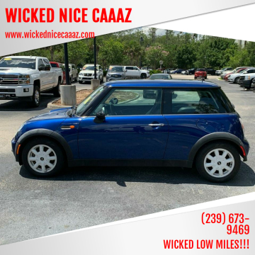 2003 MINI Cooper for sale at WICKED NICE CAAAZ in Cape Coral FL