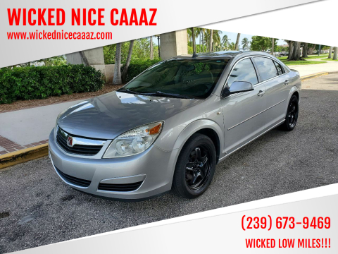 2008 Saturn Aura for sale at WICKED NICE CAAAZ in Cape Coral FL