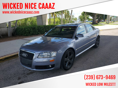 2006 Audi A8 for sale at WICKED NICE CAAAZ in Cape Coral FL
