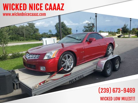 2005 Cadillac XLR for sale at WICKED NICE CAAAZ in Cape Coral FL