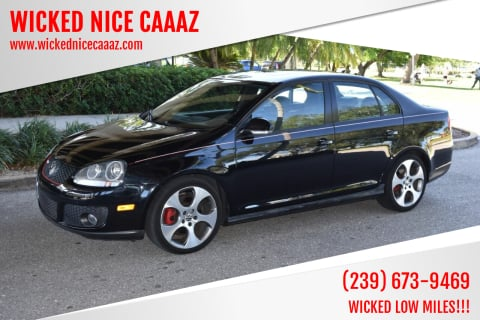2009 Volkswagen GLI for sale at WICKED NICE CAAAZ in Cape Coral FL