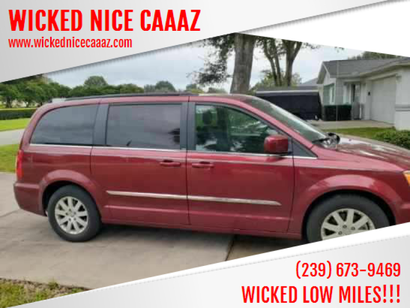 2014 Chrysler Town and Country for sale at WICKED NICE CAAAZ in Cape Coral FL