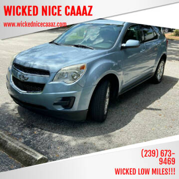 2014 Chevrolet Equinox for sale at WICKED NICE CAAAZ in Cape Coral FL