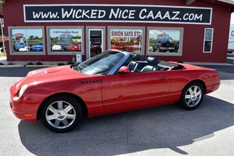 2004 Ford Thunderbird for sale in Cape Coral, FL