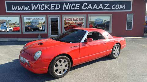 2002 Ford Thunderbird for sale in Cape Coral, FL