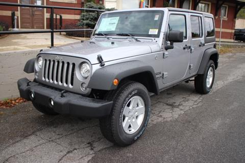 2017 Jeep Wrangler Unlimited for sale in Springville NY