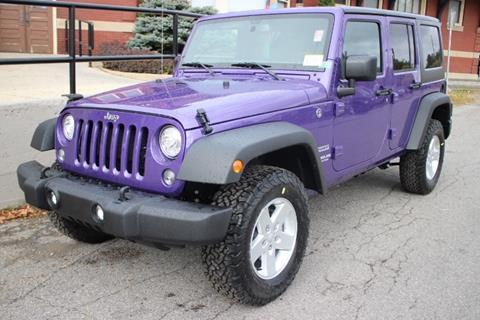 2017 Jeep Wrangler Unlimited for sale in Springville, NY