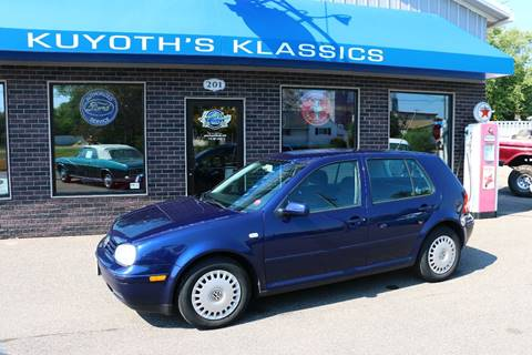 2002 Volkswagen Golf for sale at Kuyoth's Klassics in Stratford WI