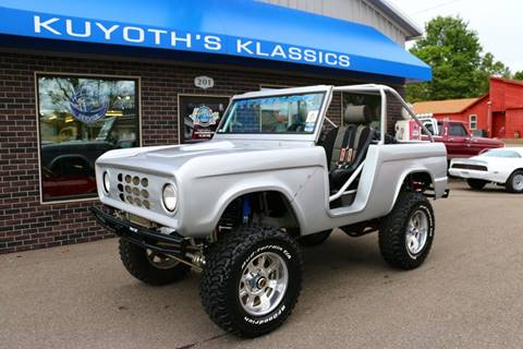 1968 Ford Bronco for sale at Kuyoth's Klassics in Stratford WI