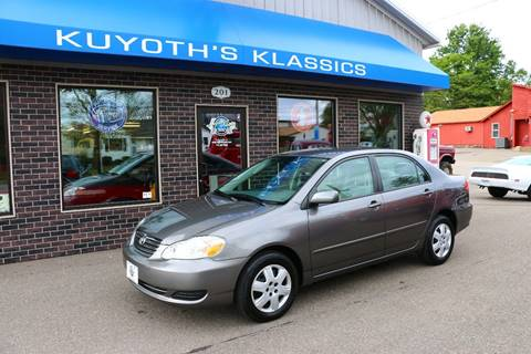 2008 Toyota Corolla for sale at Kuyoth's Klassics in Stratford WI