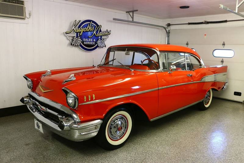 1957 Chevrolet Bel Air for sale at Kuyoth's Klassics in Stratford WI