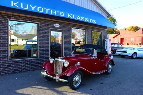 1952 MG TD for sale in Stratford, WI