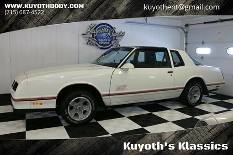 Chevrolet Monte Carlo For Sale in Stratford, WI - Kuyoth's Klassics