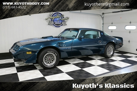 1979 Pontiac Firebird Trans Am for sale in Stratford, WI