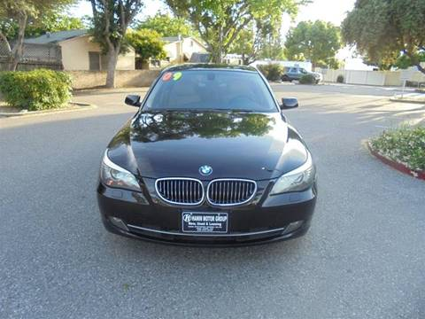 2009 BMW 5 Series for sale at Hanin Motor in San Jose CA