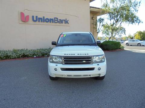 2007 Land Rover Range Rover Sport for sale at Hanin Motor in San Jose CA