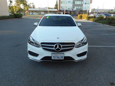 2014 Mercedes-Benz E-Class for sale at Hanin Motor in San Jose CA