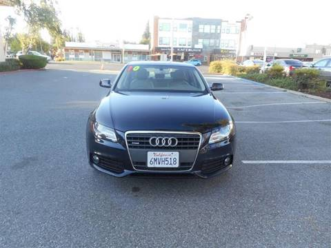 2010 Audi A4 for sale at Hanin Motor in San Jose CA
