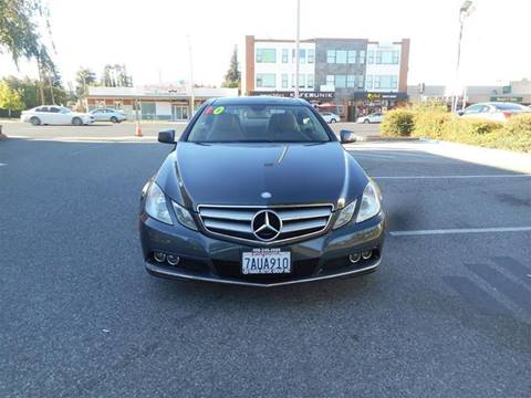 2010 Mercedes-Benz E-Class for sale at Hanin Motor in San Jose CA