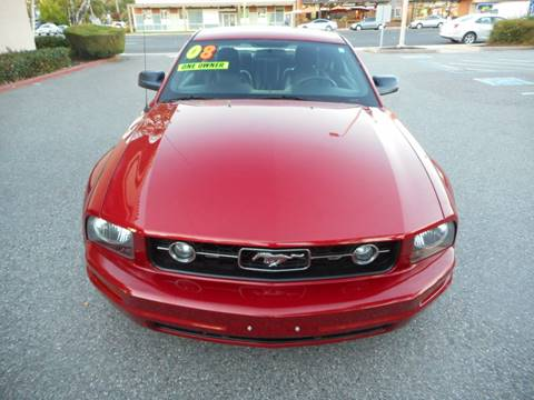 2008 Ford Mustang for sale at Hanin Motor in San Jose CA